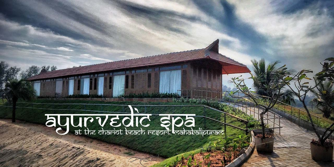 Ayurvedic Spa at the Chariot Beach Resort, Mahabalipuram