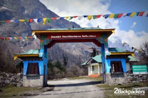 Shingba Rhododendron Sanctuary Entrance, Lachung in North Sikkim