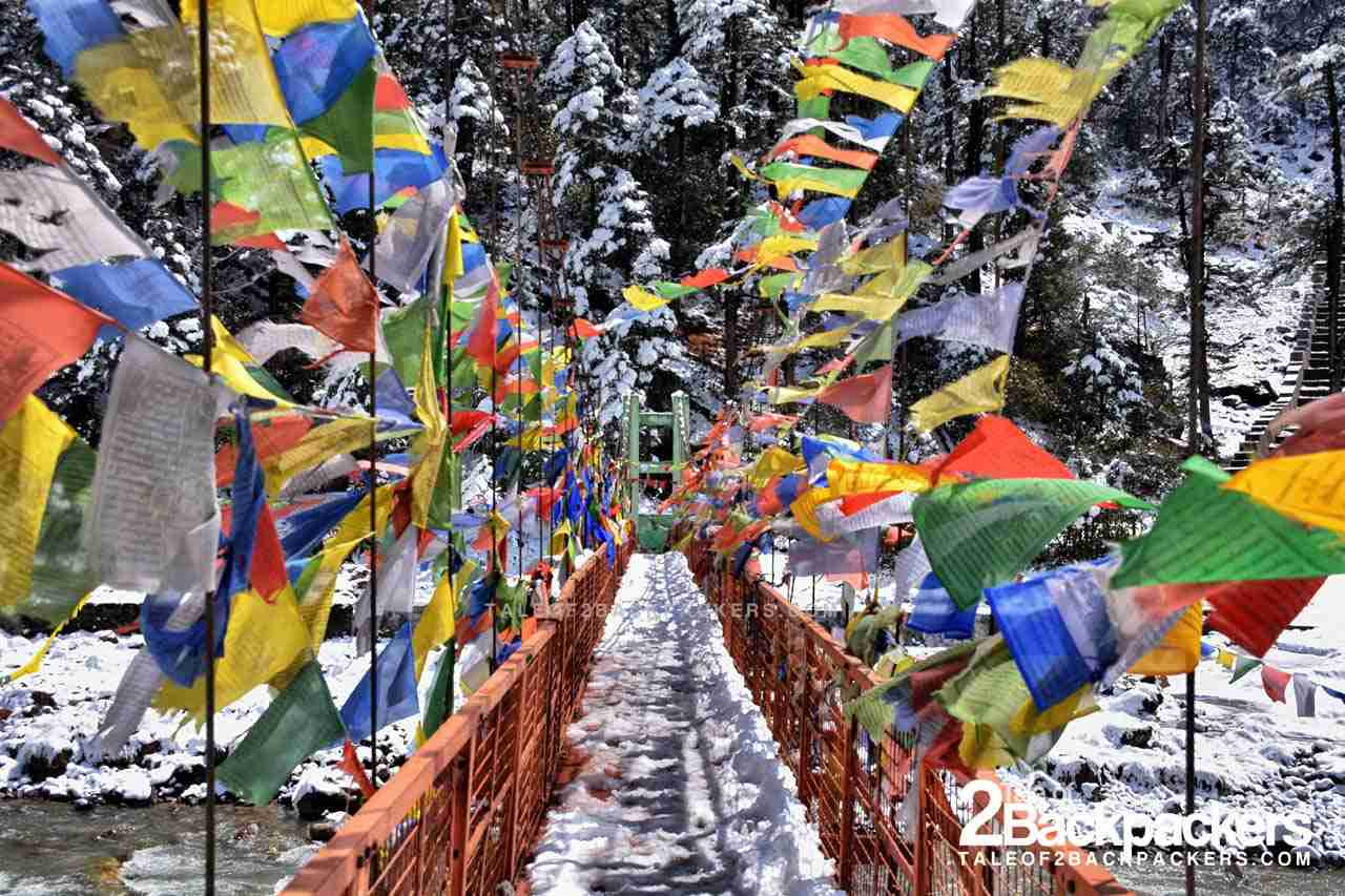 The Bridge leading to the Yumthang Valley Hot Springs