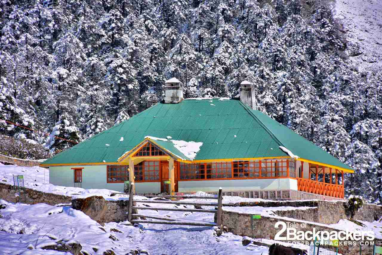 Winters in Yumthang Valley North SIkkim