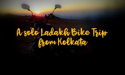 A solo Ladakh Bike Trip from Kolkata