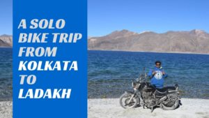 Solo bike trip to Ladakh