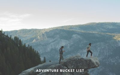 Adventure Bucket List for 2020 – All that we want to do