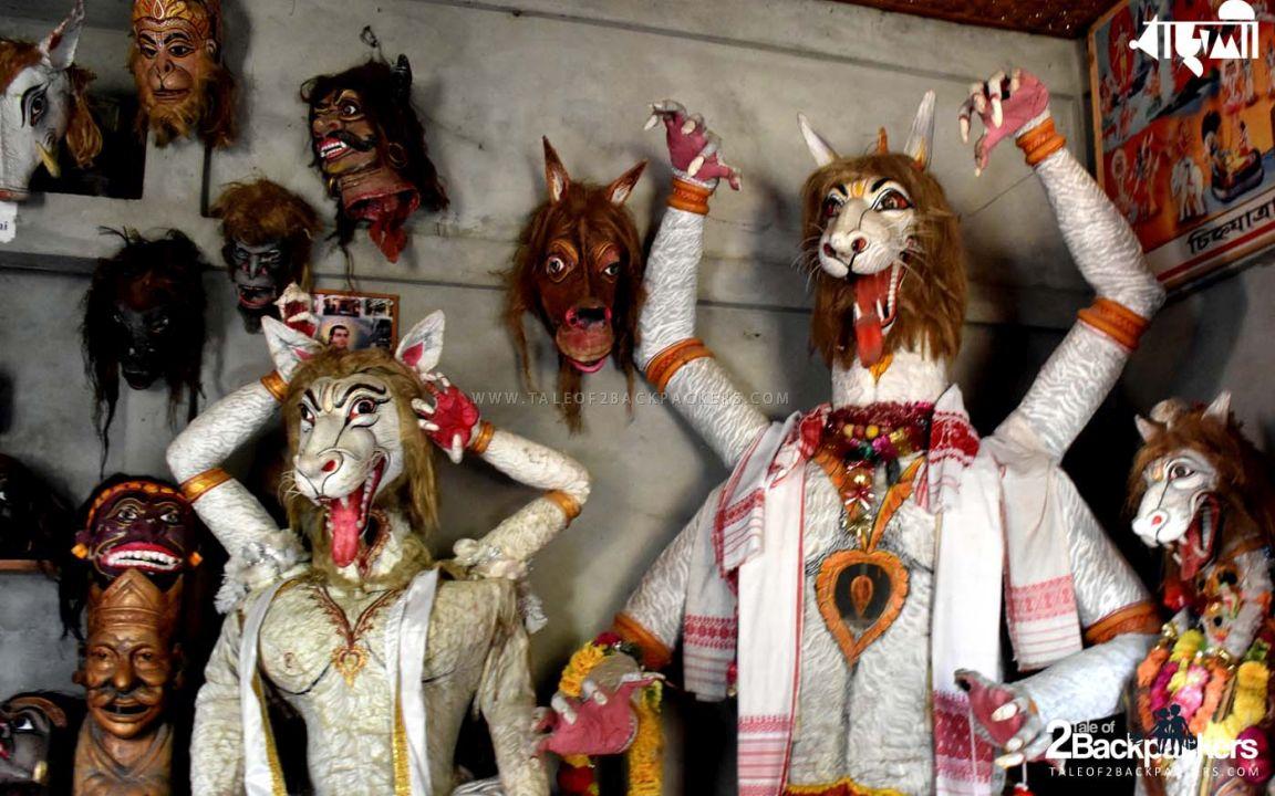 Mask Making at Majuli