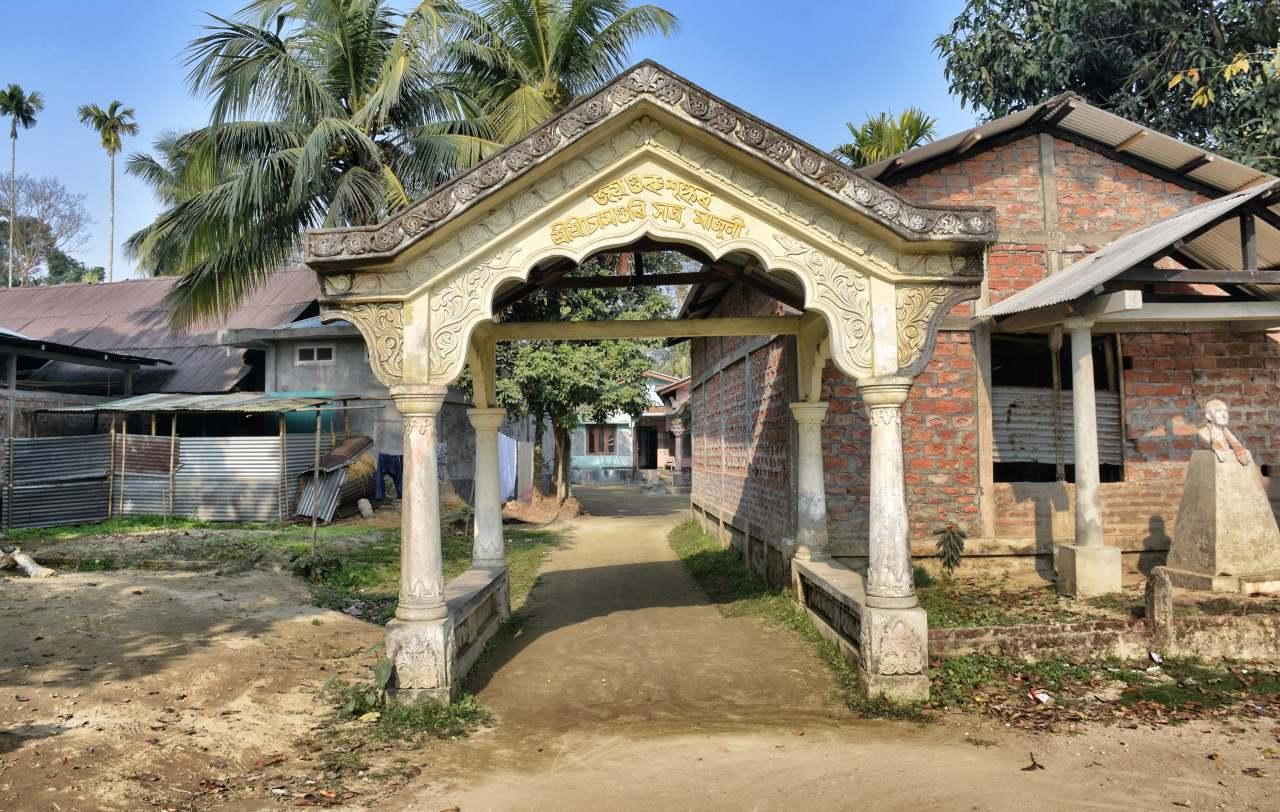Chamaguri Satra Samaguri Satra Majuli Assam