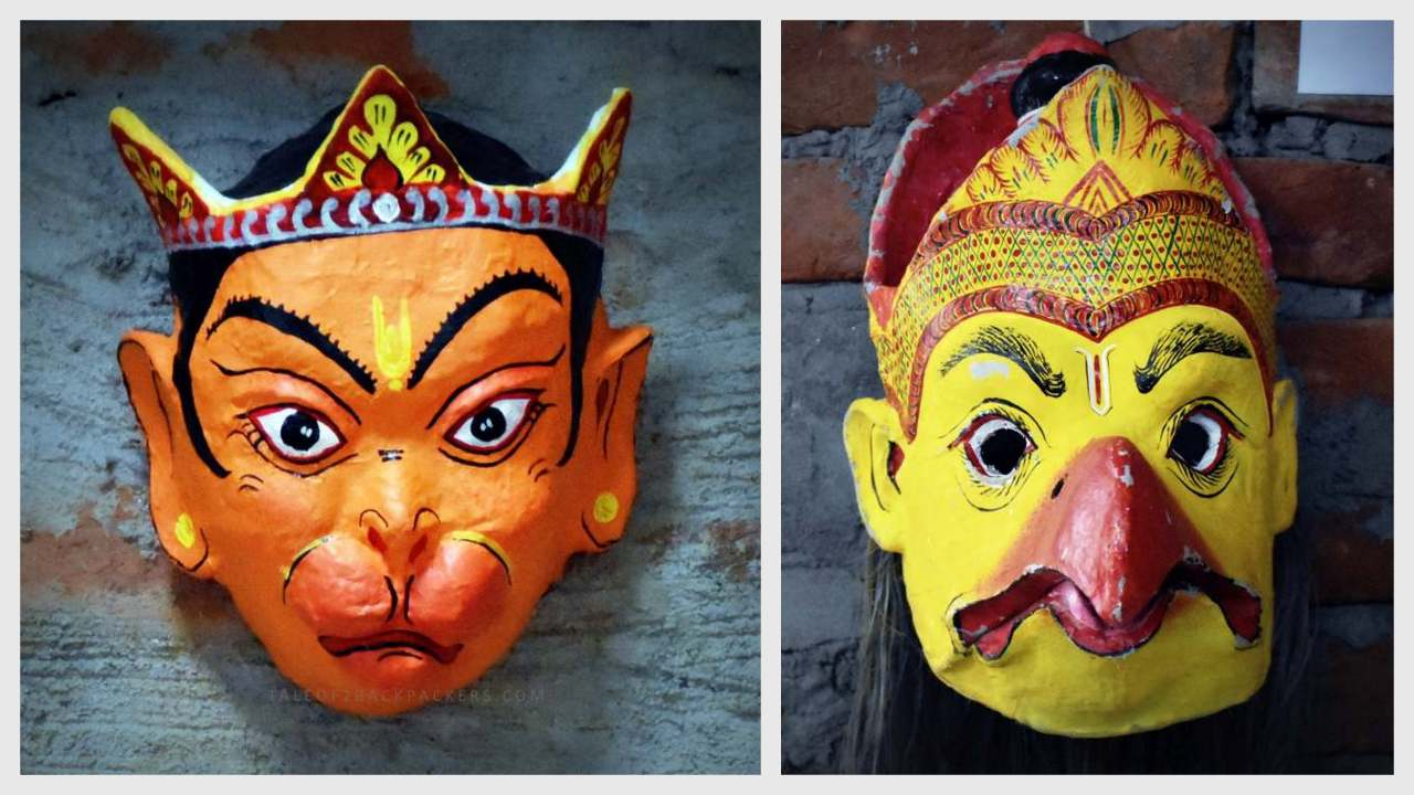 Masks of Majuli Assam