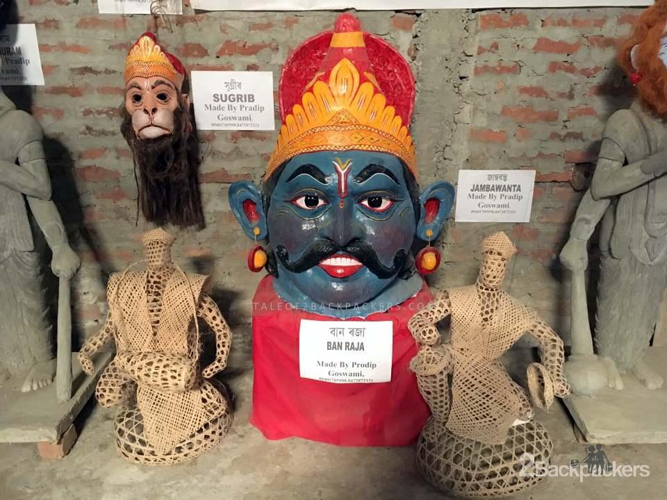 Masks of Majuli Assam, Chamaguri Satra