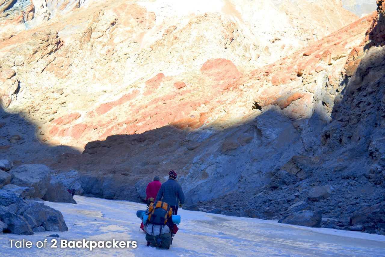Chadar Frozen River Trek - Responsible Trekking