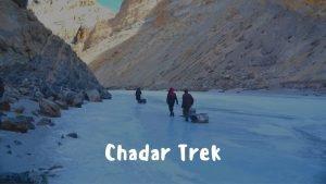 Chadar Frozen River Trek Ladakh