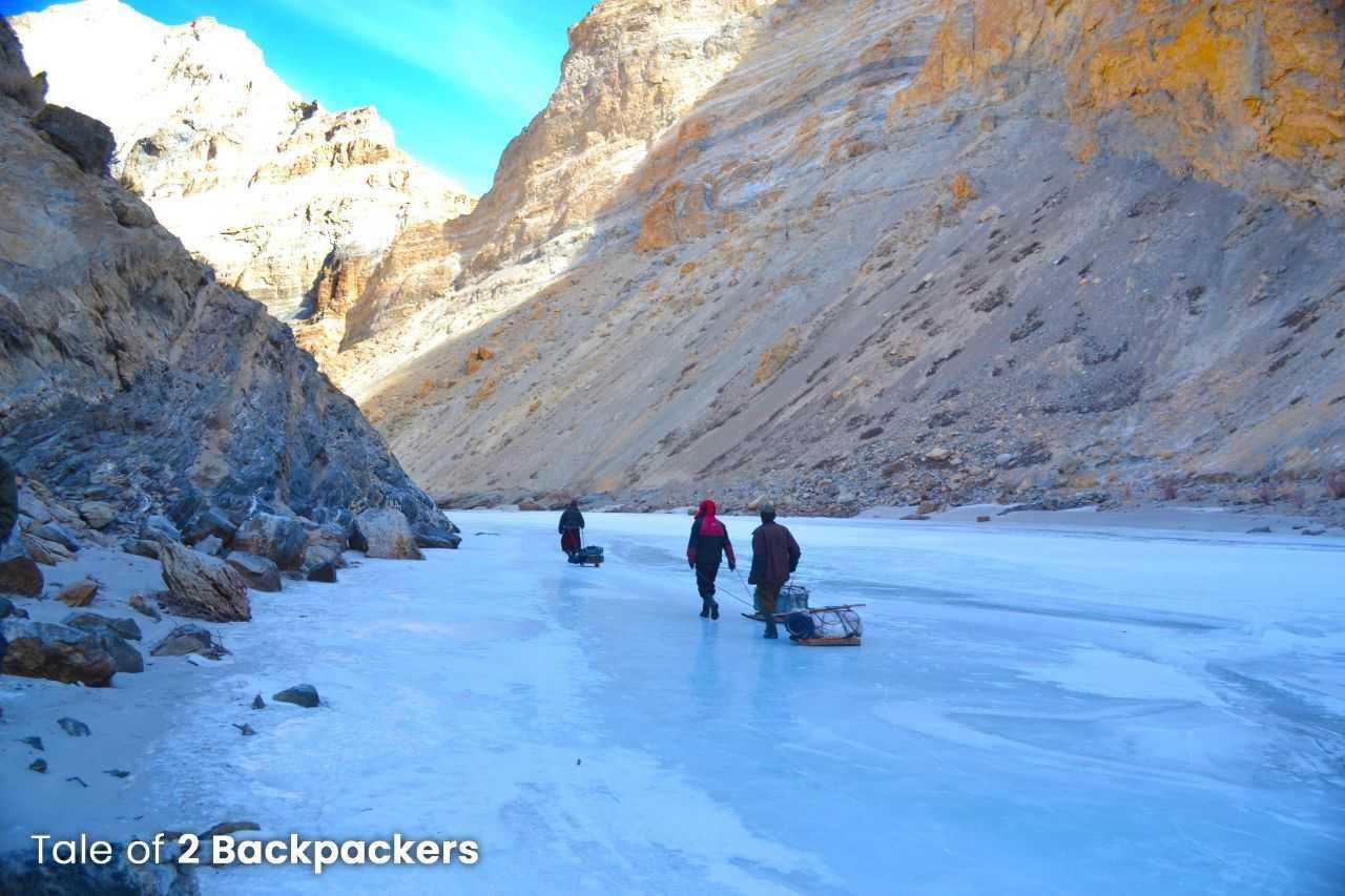 Chadar Trek Trail
