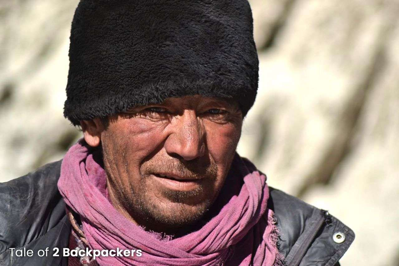 Ladakhi local on Chadar Trek