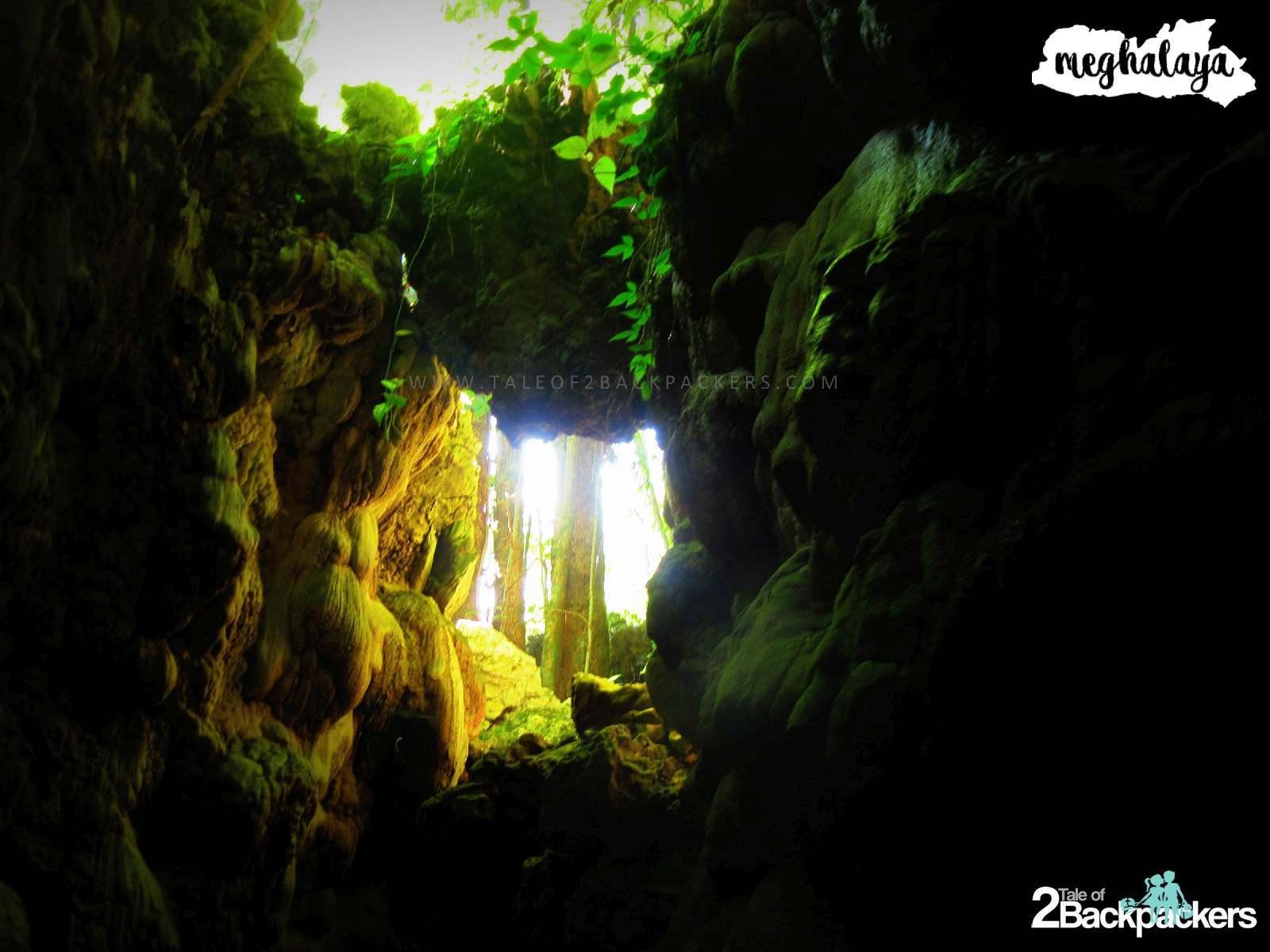 Caving in Meghalaya