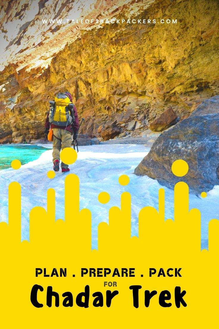 Prepare for Chadar Trek - pinterest