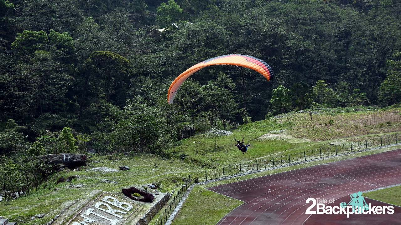 Paragliding in Gangtok Sikkim Tourism