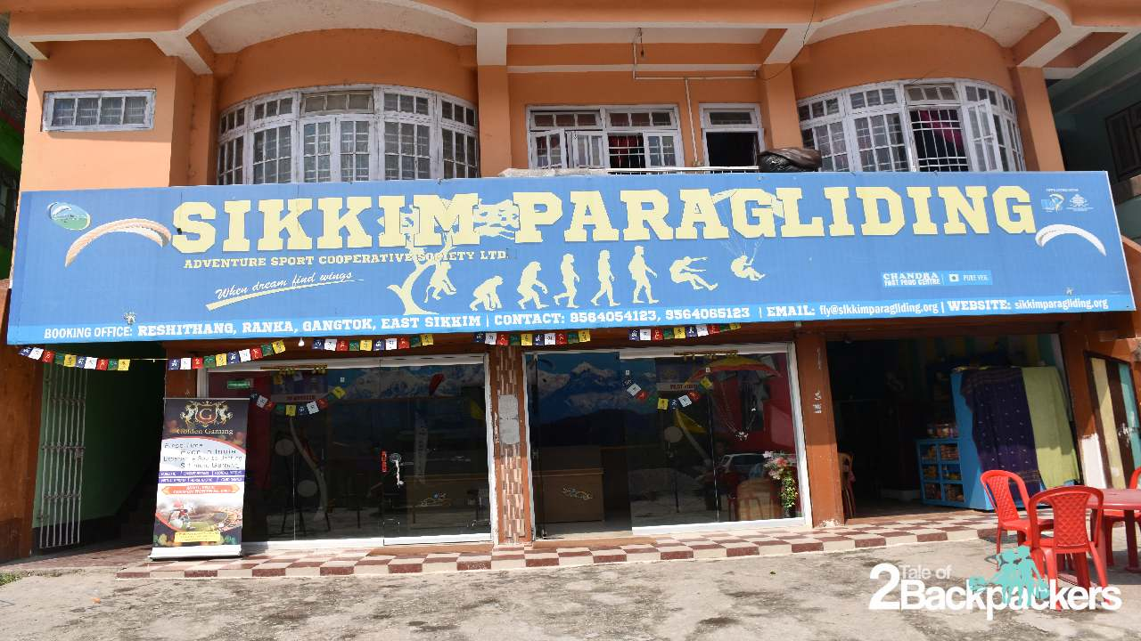 Sikkim Paragliding Paragliding in Gangtok Sikkim Tourism