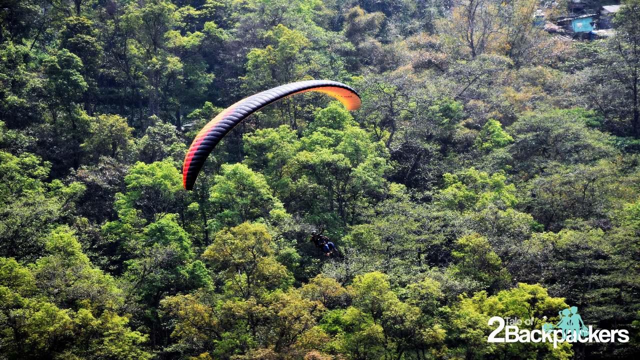 Paragliding in Gangtok Sikkim Tourism