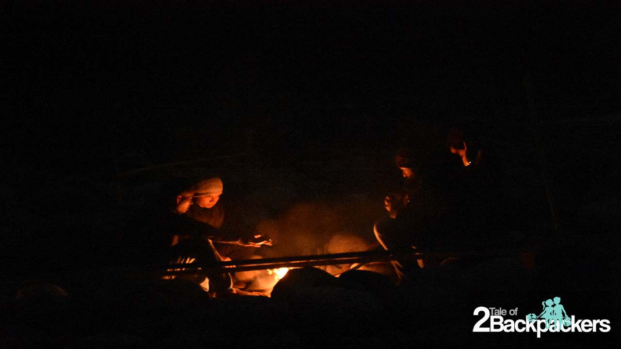 Campfire at Shnongpdeng Meghalaya