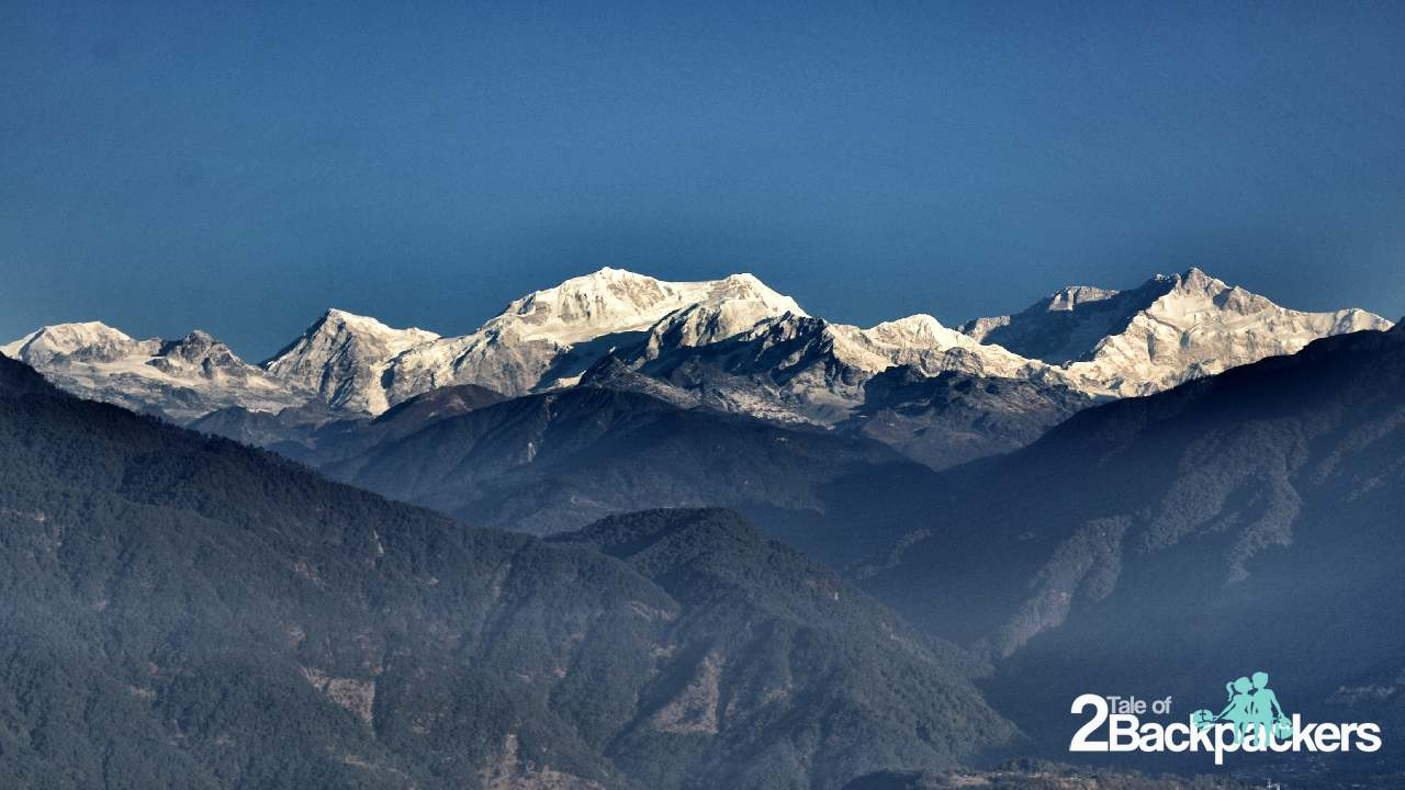 Kangchendzonga Ranges from Pelling Sikkim Tourism