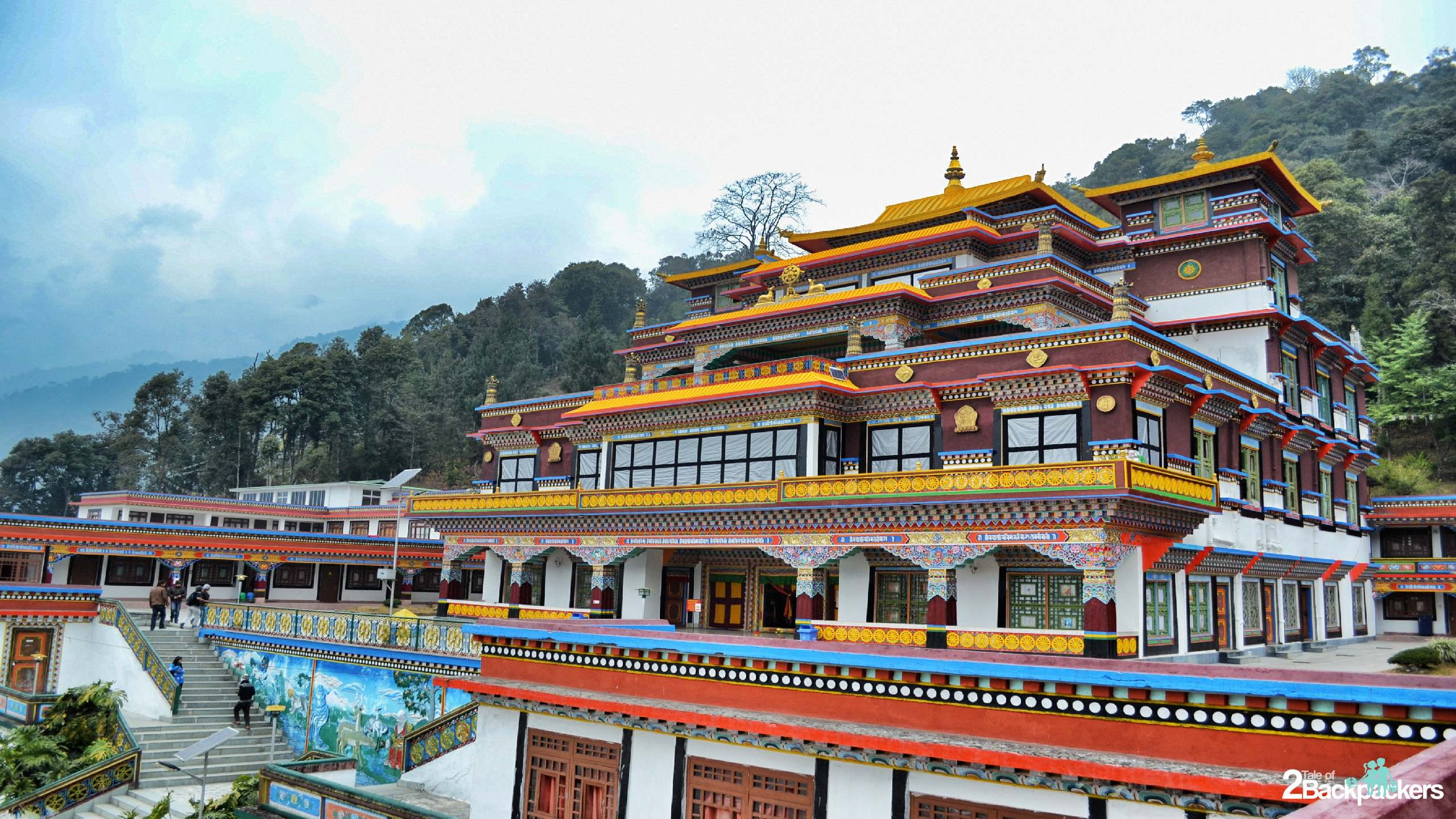 Monastery Sikkim Things to do in Sikkim