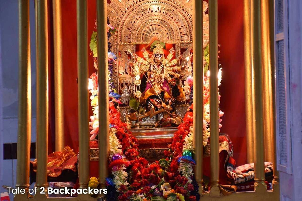 Behala Jagat Ram Mukherjee Sonar Durga Puja