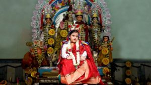 Bonedi Bari Durga Puja Kolkata