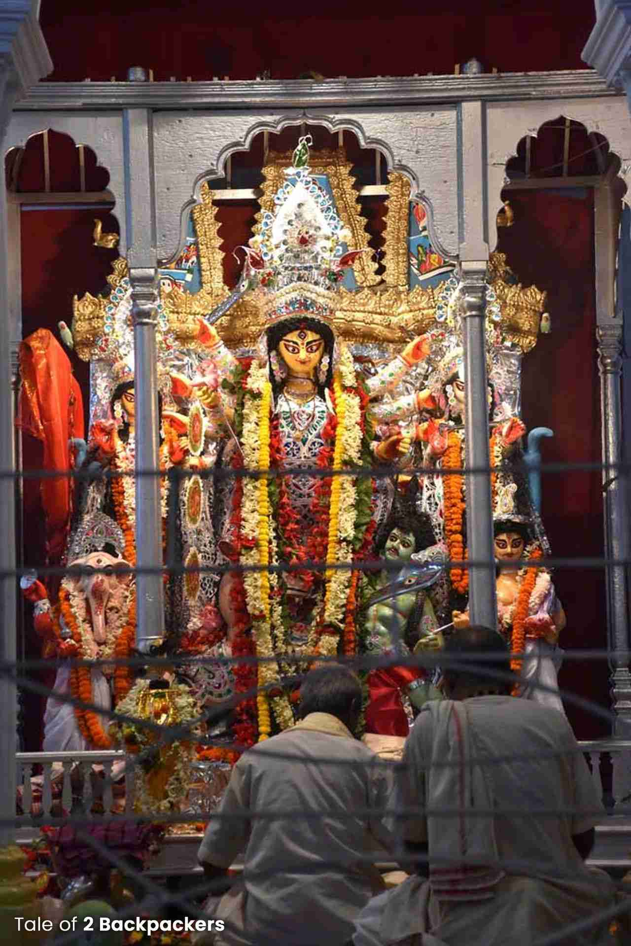 Chhatu Babu Latu Babu Bari Durga Puja