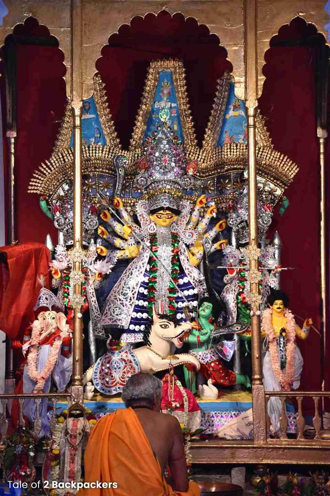 Darjipara Mitra Bari Durga Puja Kolkata