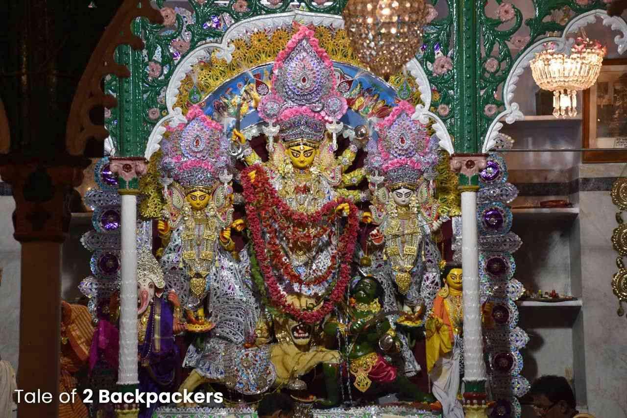 Narasingha Daw Family Durga Puja in Kolkata - Bonedi Barir Durga Puja in Kolkata