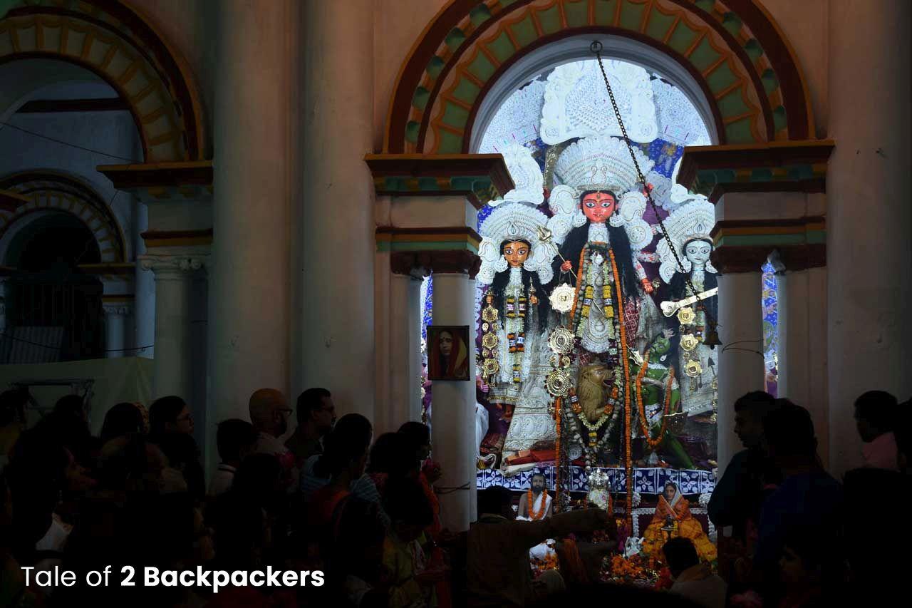 Rani Rashmoni Bari Durga Puja