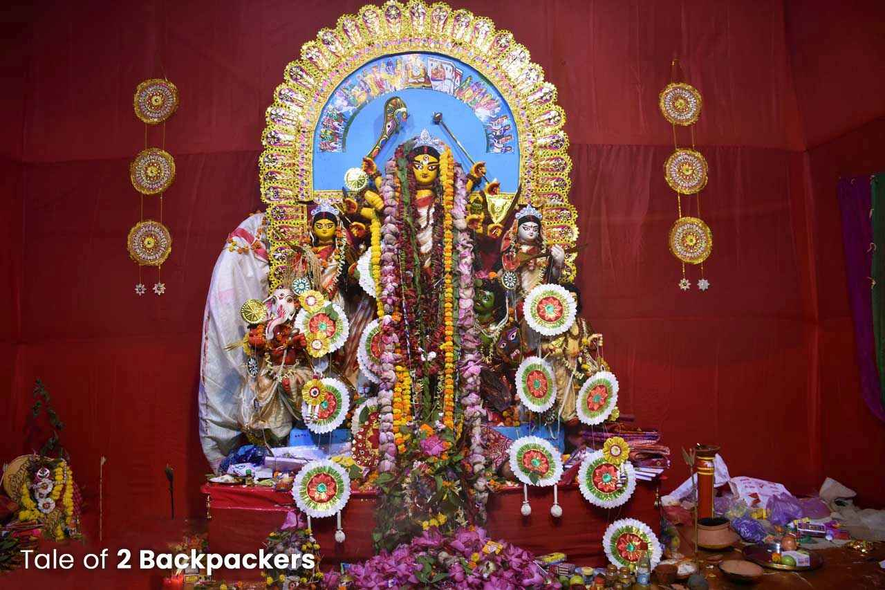 Rani Rashmoni Family Durga Puja third one