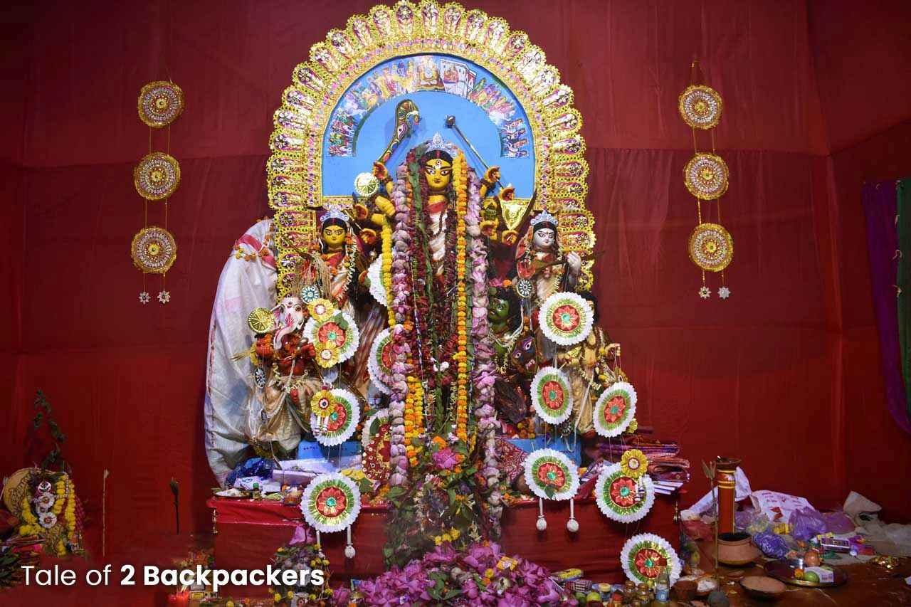 Rani Rashmoni Family Durga Puja third one