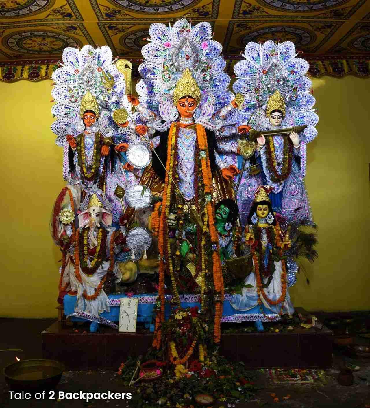 Sabarna Roychowdhury Durga Puja Behala