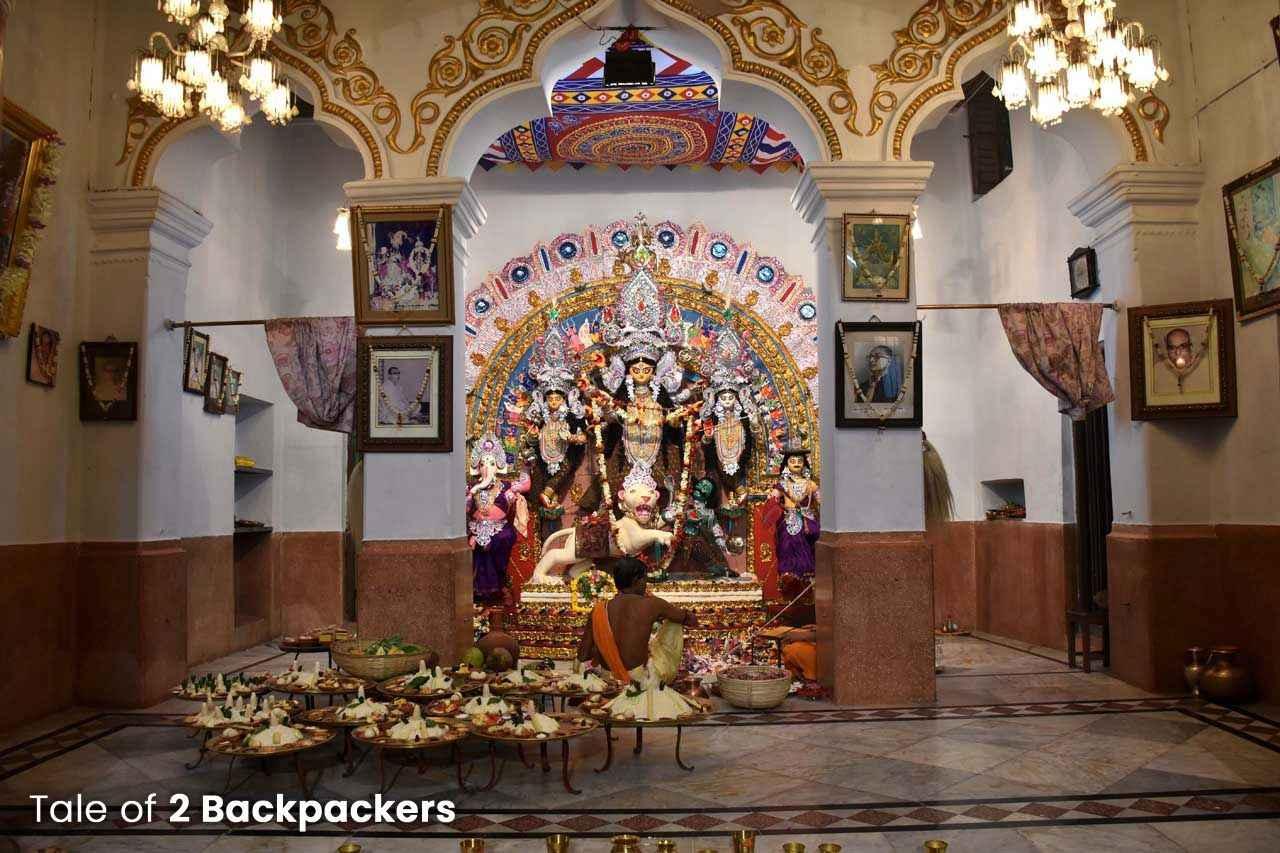 Shib Krishna Daw Family Durga Puja