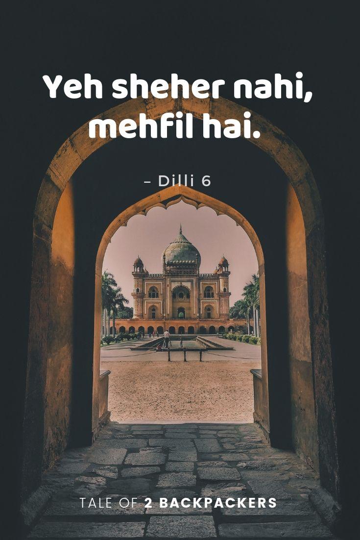 Delhi quotes