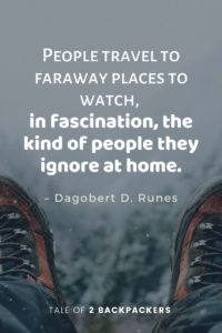 Inspirational travel quotes and sayings