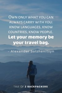 Memorable Travel Quotes