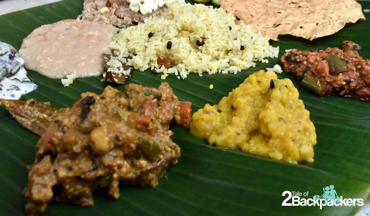 Traditional Oriya Lunch