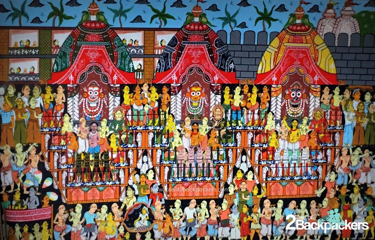 Pattachitra of Raghurajpur, Odisha, Puri