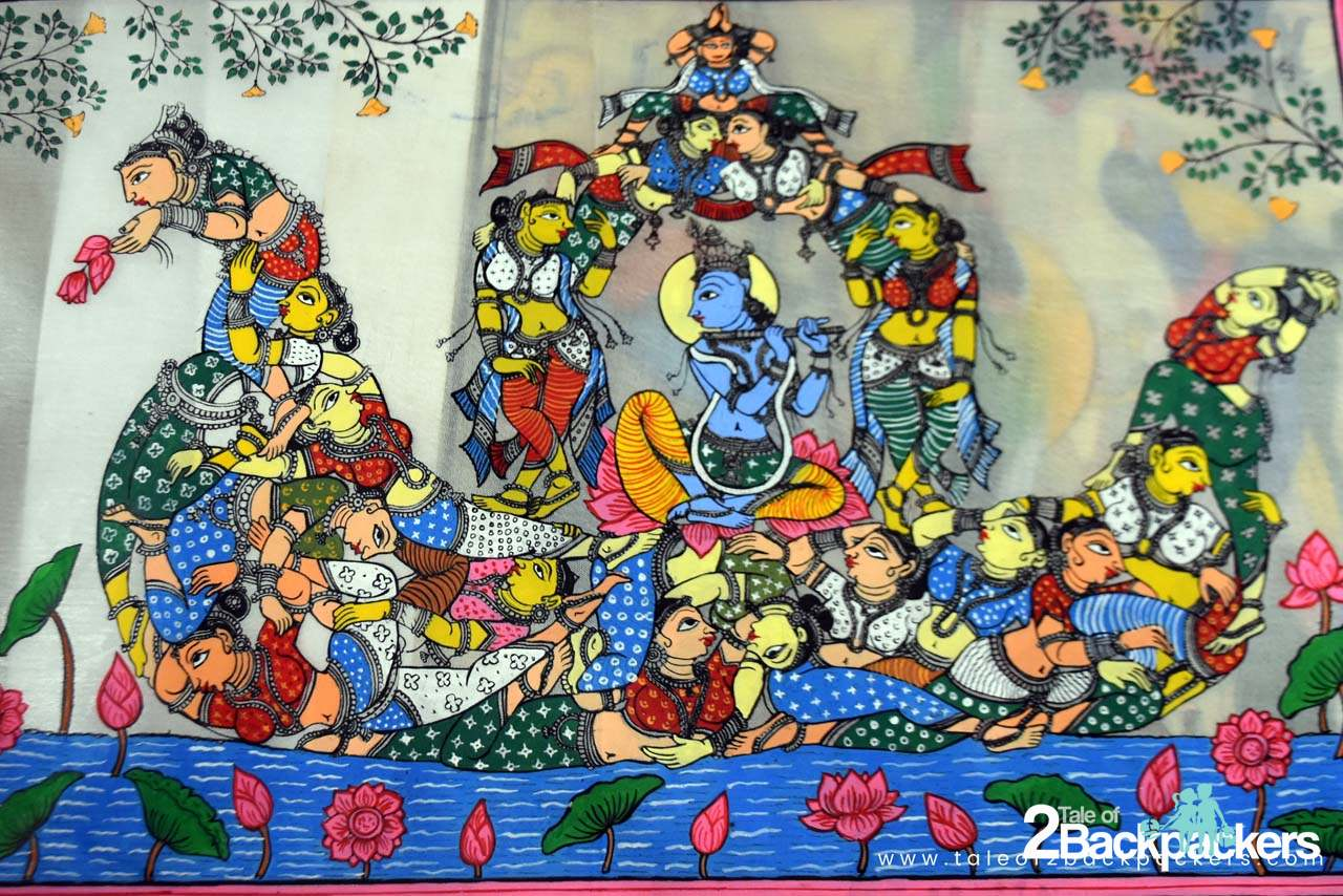Pattachitra of Raghurajpur, Odisha, Puri