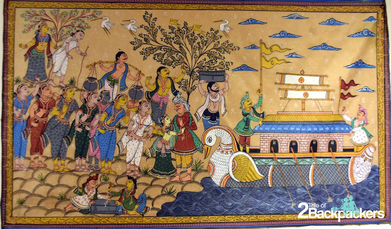 Raghurajpur patachitra Puri Odisha