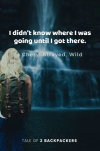 Travel quotes from movies - Wild
