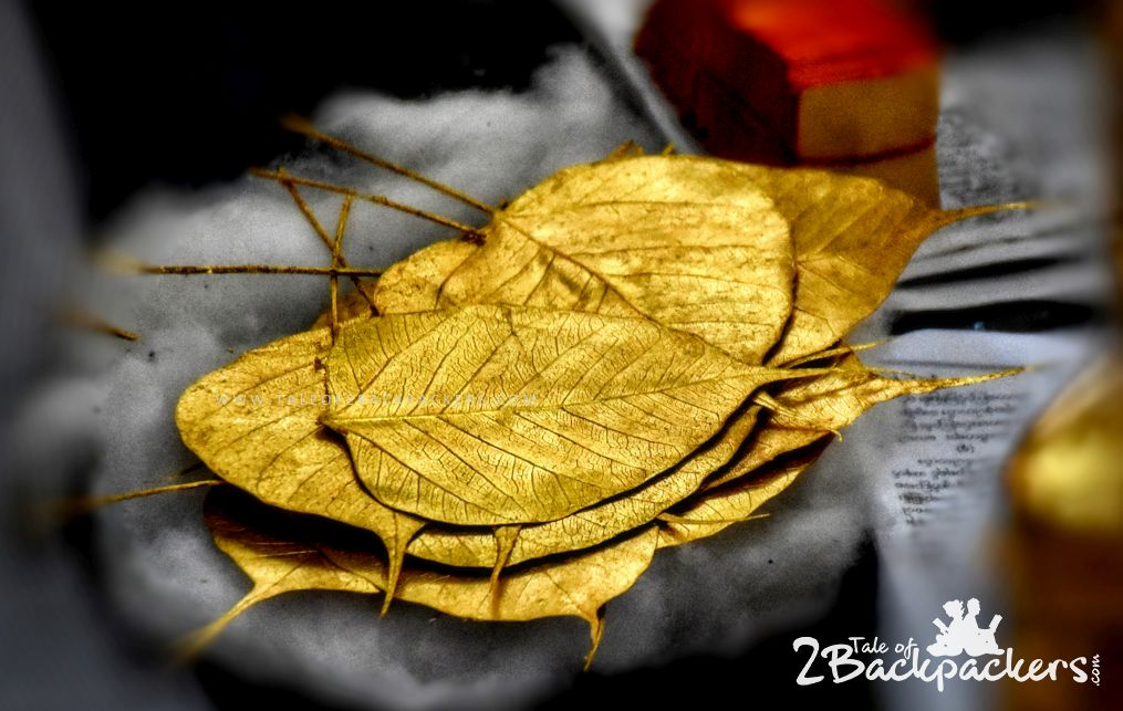 Gold leafs at Myanmar are offered at the pagodas - Myanmar Travel Guide