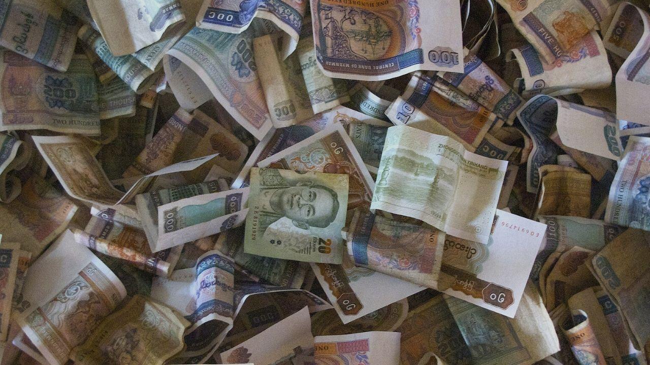 Myanmar currency - Kyats