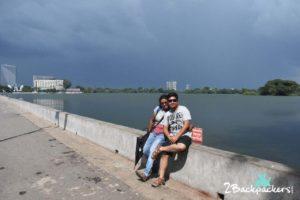 Sitting by the Inya Lake at Yangon _ Yangon travel Guide