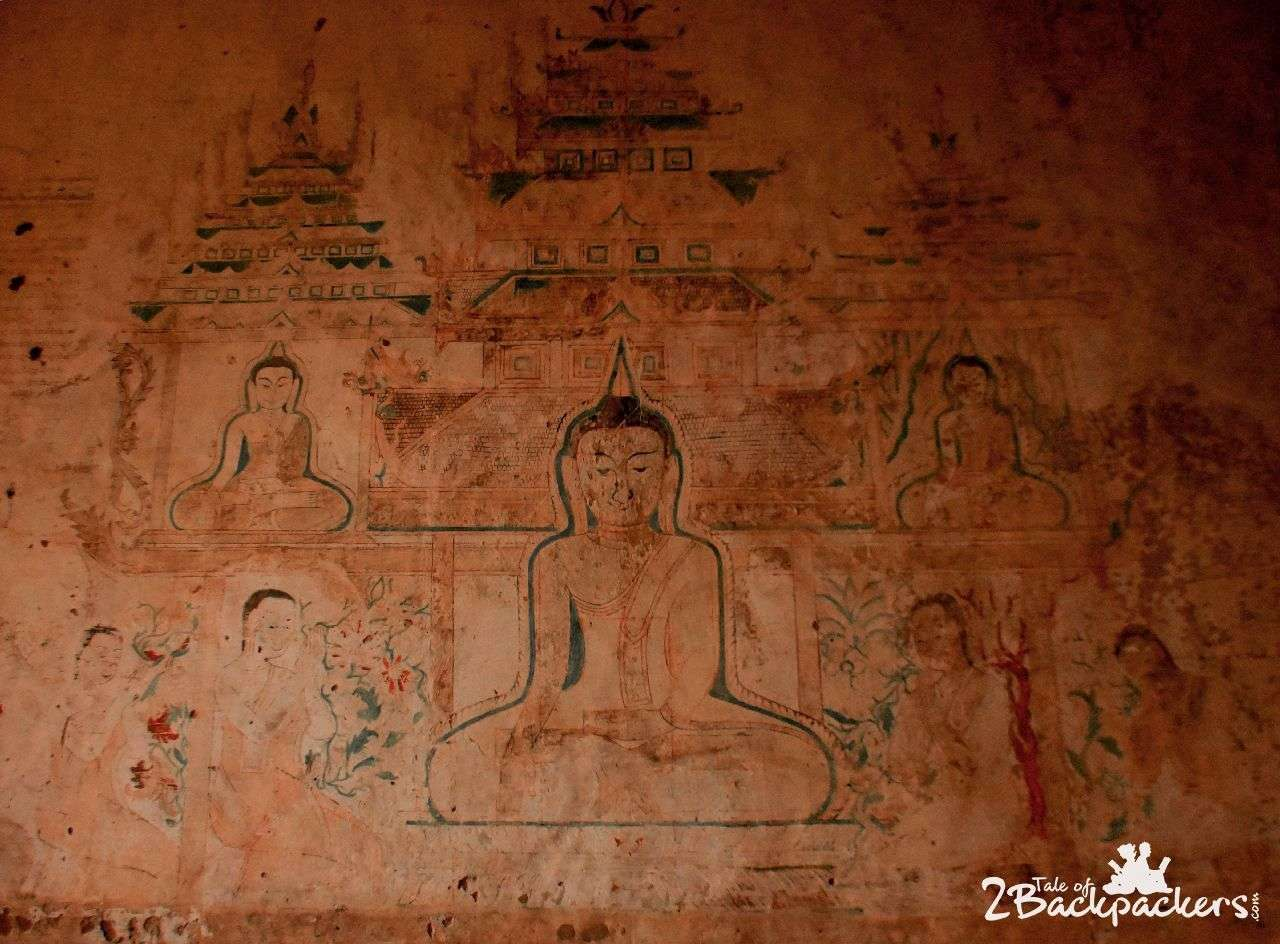 Frescoes in the Temples of Bagan