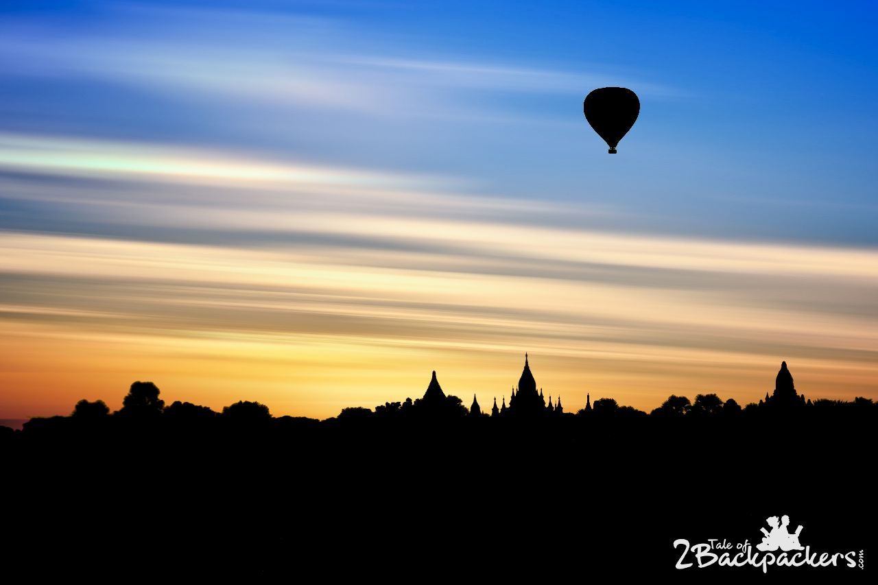 Balloon Safari at Bagan Myanmar