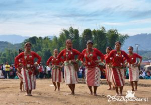 Folk dance at Bascon, Basar