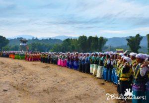 Galo Folk dance, Basar