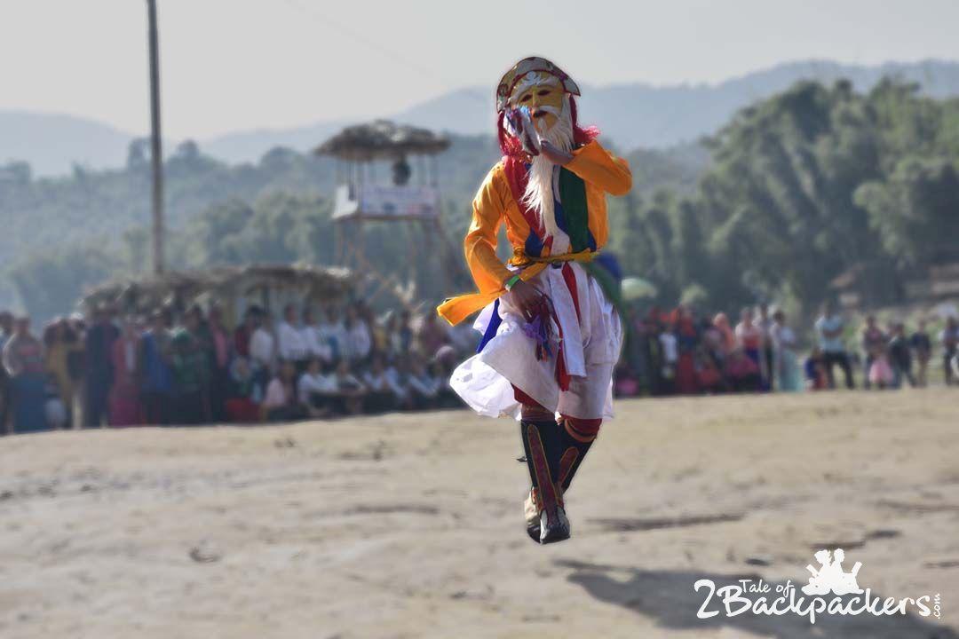 Lion dance, Bascon_Basar Confluence_Arunachal Pradesh