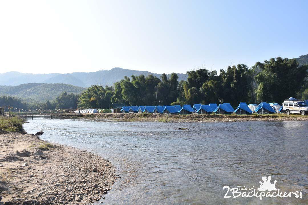 Camping at Basar Confluence
